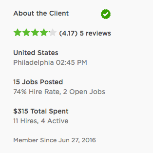 Be smart when you work with clients on Upwork.