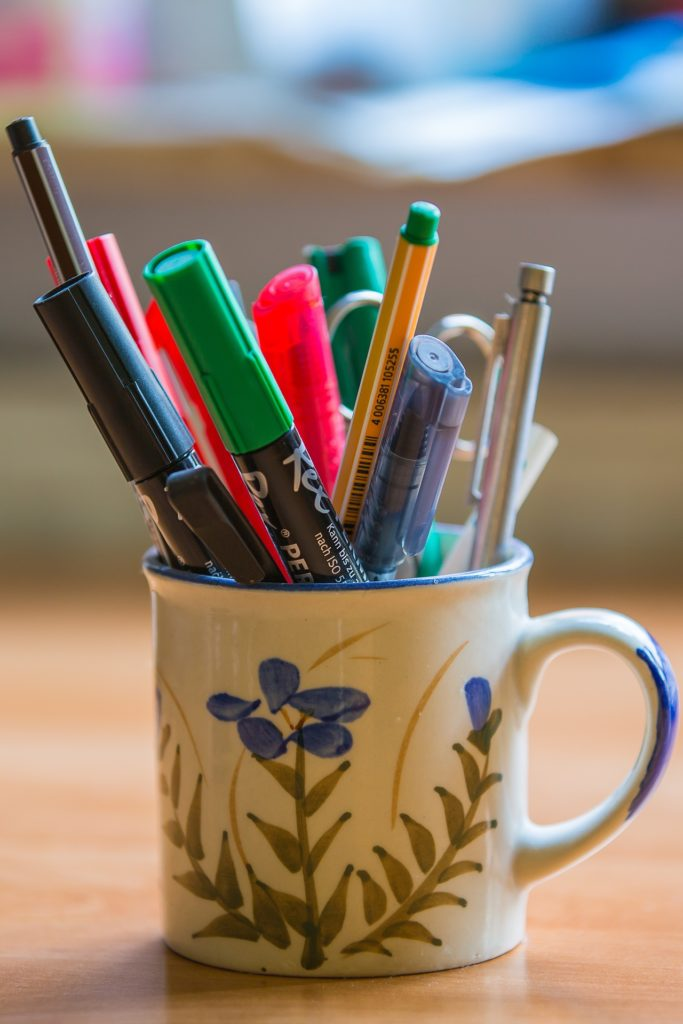 Buying more pens won't help you find time to write, but it will give you more pens.
