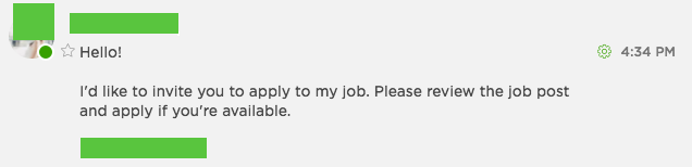 get invited to more jobs on Upwork