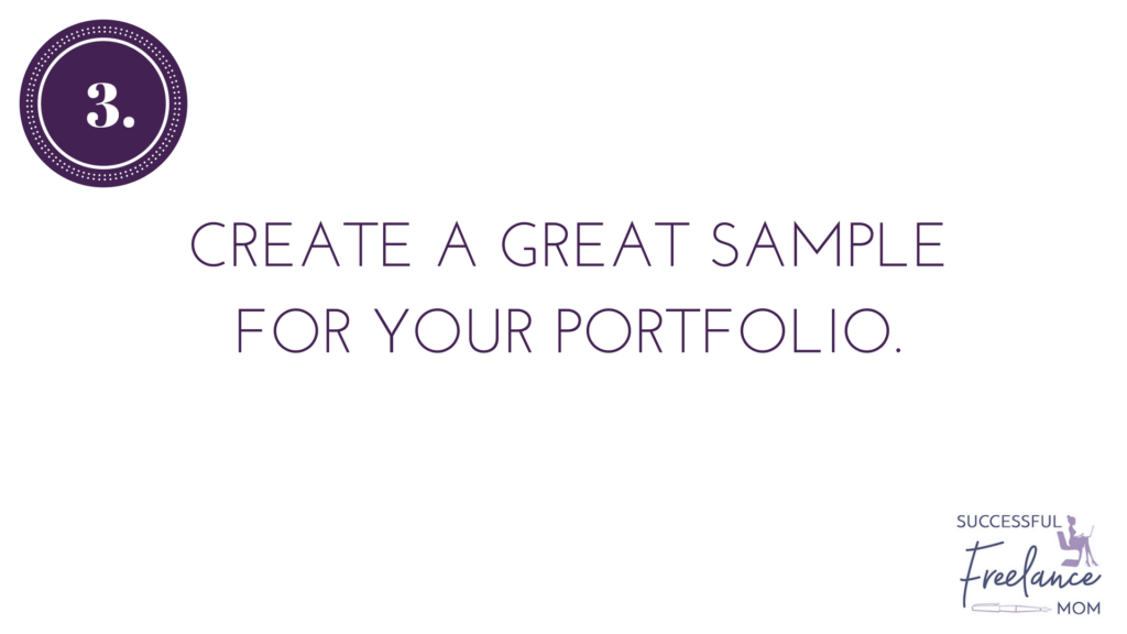 use samples to get more jobs on Upwork