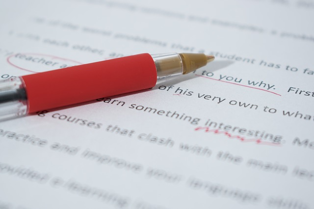 make sure you proofread your article before you submit it